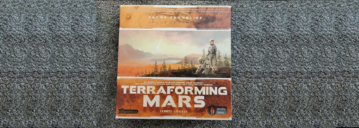 Game night – Terraforming Mars