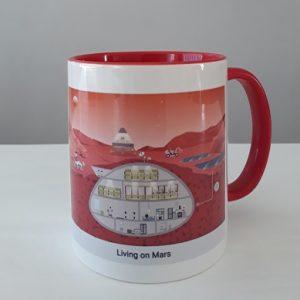 Mug/Mok 'Living on Mars'